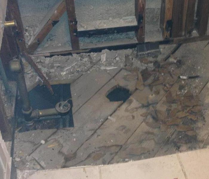 Sewage Disaster in Mendocino Home Before
