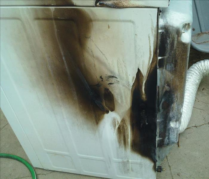 Fire damage and appliances-such a bad combo!